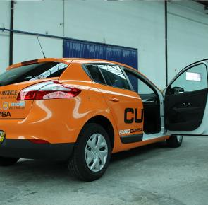 Renault Megane - Full Wrapping + Recorte