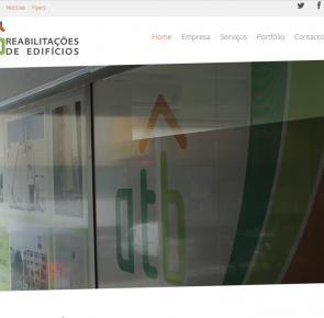 Website - ATB Reabilitações